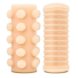 Double stroke reversible - penis stroker