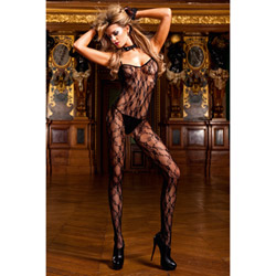 Lace bodystocking - bodystockings