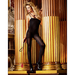Opaque bodystocking - bodystockings