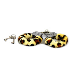 Fur handcuffs - Play With Me playtime cuffs - view #1
