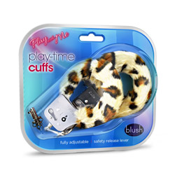 Fur handcuffs - Play With Me playtime cuffs - view #2