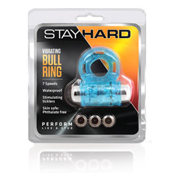Penis ring with removable bullet - Stay Hard vibrating bull ring - view #2