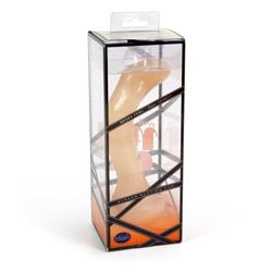 Dildo - Dual density silicone dildo 3 - view #6