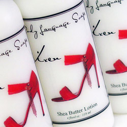 Shea butter lotion - body moisturizer