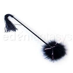 Good Girl Bad Girl Feather Whipper - flogging toy