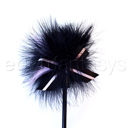 Crop - Good girl bad girl feather spanker - view #2