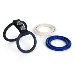 Nitrile dual ring set
