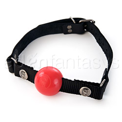 Silicone removable small ball gag - sex toy