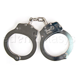 Handcuffs - Double locking nickel handcuffs - view #4