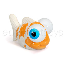 I rub my fishie - discreet massager