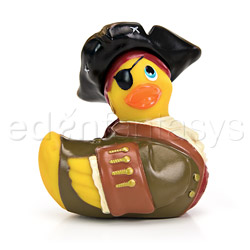 I rub my duckie pirate - discreet massager