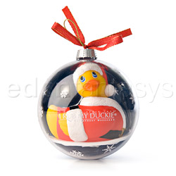 Holiday ball santa duckie