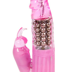 Rabbit vibrator with rotating beads - Eden waterproof rabbit - view #3