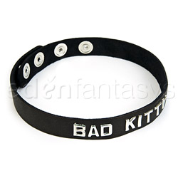 Bad kitty wordband collar