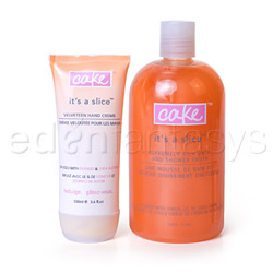 Celebrate it's a slice duo - bath and shower gel