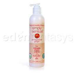 Simply sensual shave creme - shaving gel