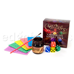 Chocolate lover's dice - love game