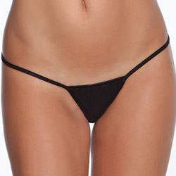 Black g-string - sexy panties