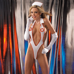 Erotic nurse - costume