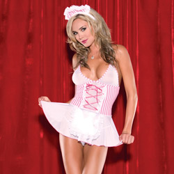 Candy striper babydoll - costume