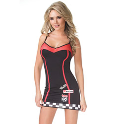 Racer dress - costume