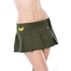Army mini skirt - petticoat
