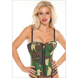 Army bustier