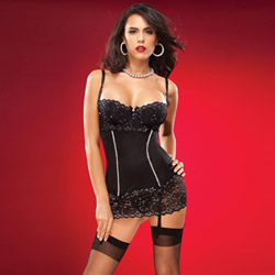 Glitter accented chemise