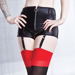 Wetlook highwaisted shorts