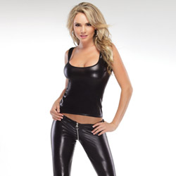 Wetlook tank top - camisole