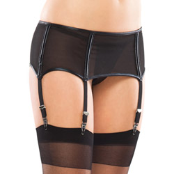 Powernet garter belt