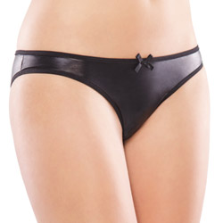 Wetlook crotchless panty - sexy panties