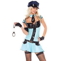 Police girl - costume
