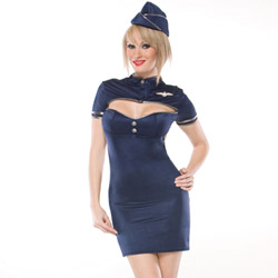 Retro stewardess - costume