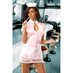 Sexy waitress - costume