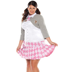 Prep school girl - costume