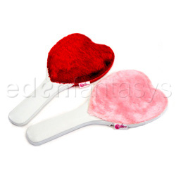 Heart shaped paddle - flogging toy