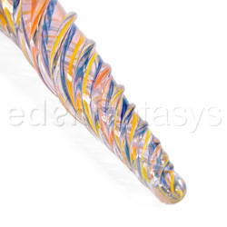 Glass wands - Twisted lattachino love wand - view #5