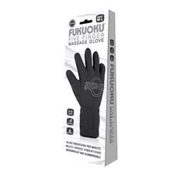 Massager - FUKUOKU 5 finger massage glove (right hand) - view #2