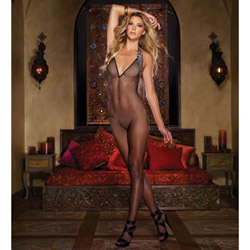 Halter bodystocking - bodystockings