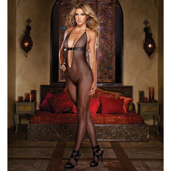 Stud detail bodystocking - bodystockings