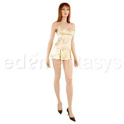 Satin chemise - chemise and panty set