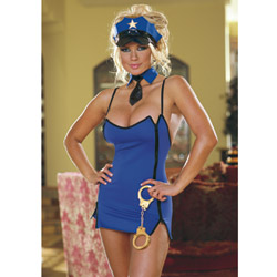 Dirty cop dress - costume