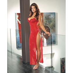 La Femme novelty gown set