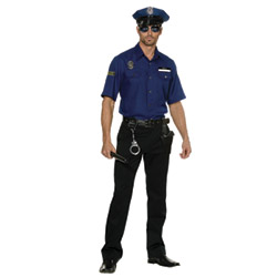 You're busted! policeman - costume