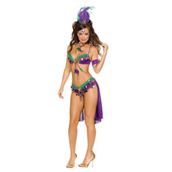 Mardi gras queen - costume