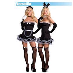 Hop To It Bunny and French maid - costume