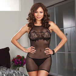 Chemise and g-string - chemise and panty set