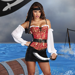 Pirate pin up - costume