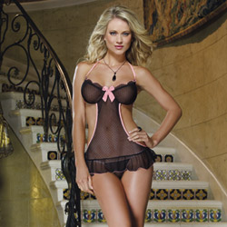 Apron babydoll - babydoll and panty set